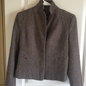 Ann Taylor Wool Classic Blazer Jacket
